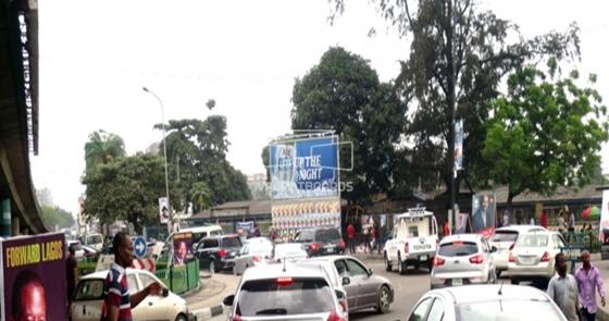 Ultrawave Billboard – Falomo Roundabout, Lagos