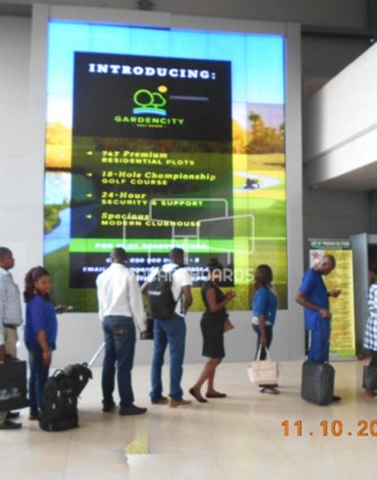 Wall Mount - Portharcourt International Airport