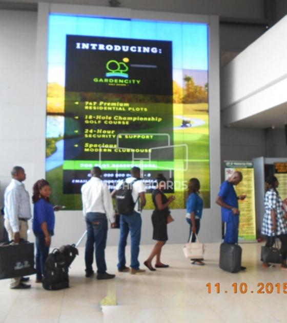 Wall Mount – Portharcourt International Airport