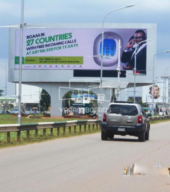 LED Landscape dipole – MMA 1, Lagos