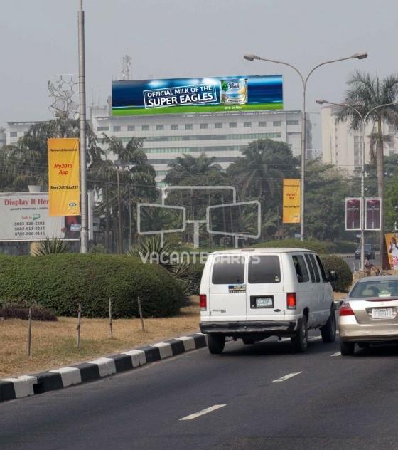 Rooftop Billboard – Kingsway Road, Lagos