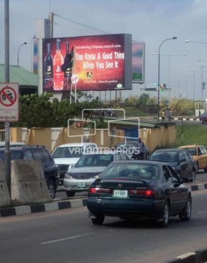 Backlit Billboard - Airport Police Station, Lagos