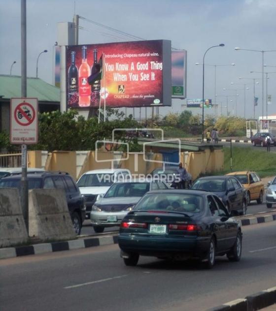 Backlit Billboard – Airport Police Station, Lagos