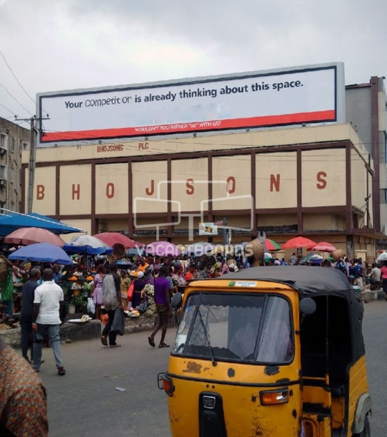 Rooftop Billboard – Oyingbo Bus Stop, Lagos