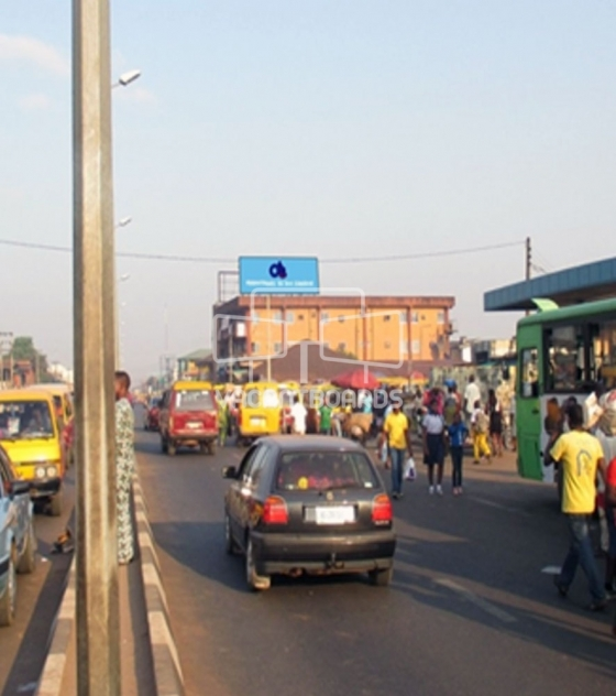 Rooftop Billboard – New Benin Market, Edo