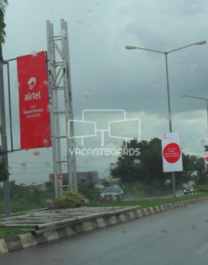 Lamp Post - Bill Clinton Drive, Abuja