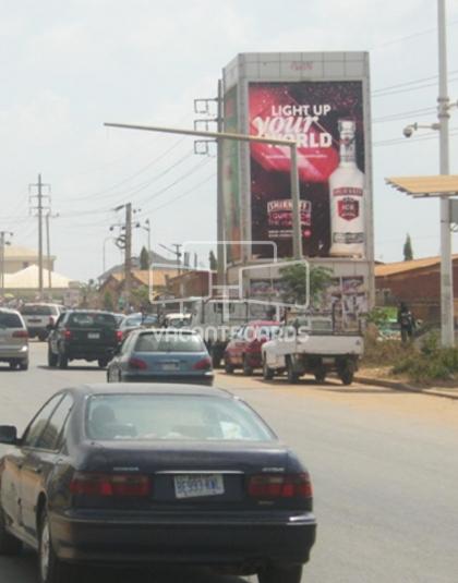 Wall Drape - Gudu Market, Abuja