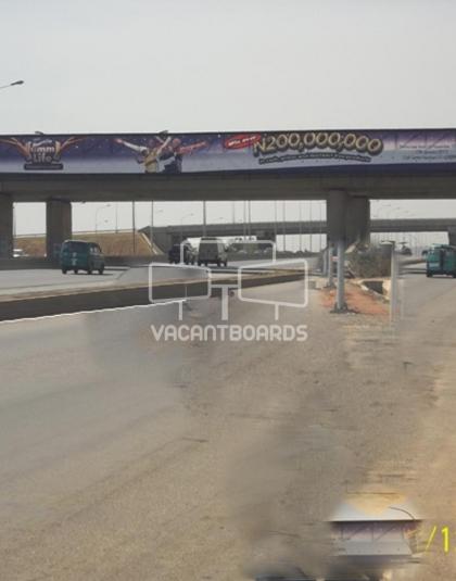 Bridge Banner - Ring Road, Abuja