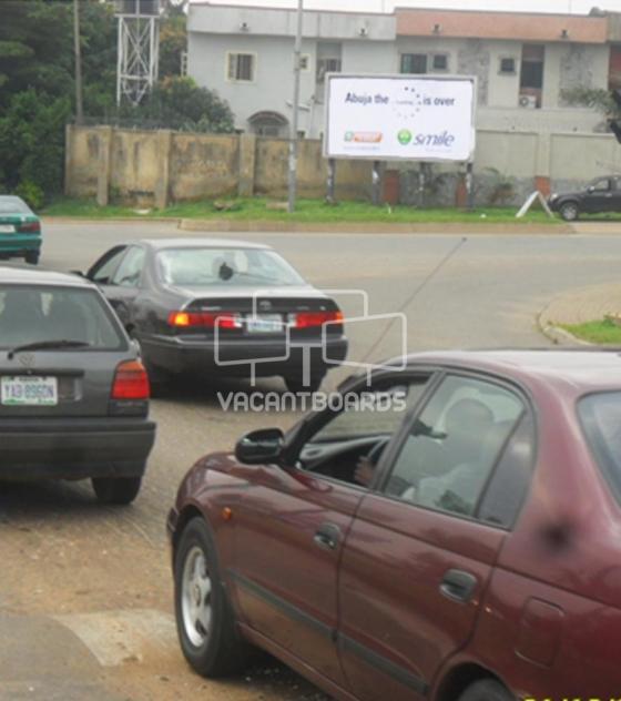 Scroller Board – IBB/Adetokunbo Way, Abuja