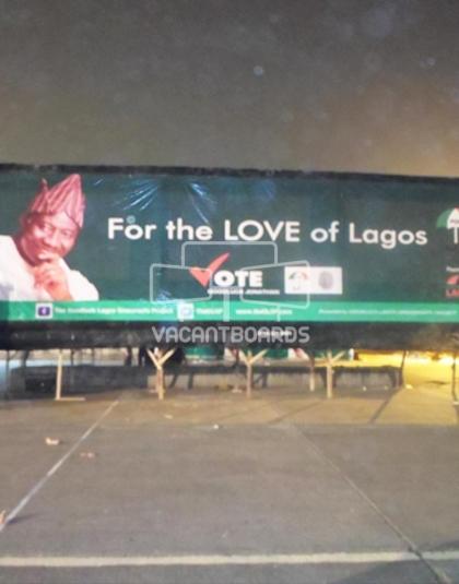 Inflatable Billboard - Lekki-Epe Expressway, Lagos