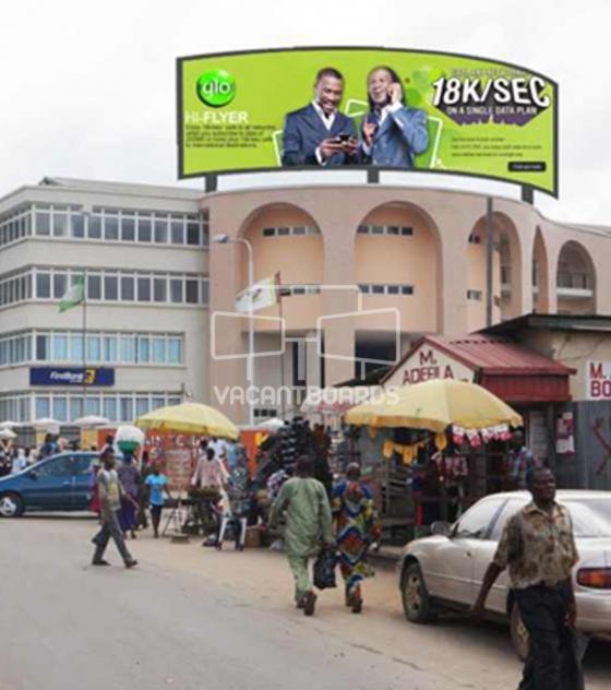 Rooftop Billboard – TSC, Lagos