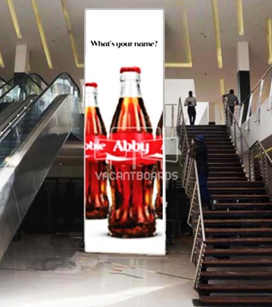 Escalator Drape – The Palms Mall, Oyo