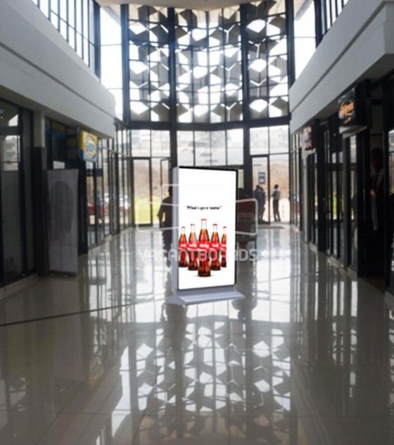 Digital Screens – The Palms Mall, Oyo