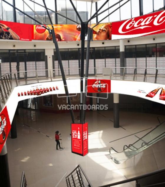 3 Sided LED Lintel – The Palms Mall, Oyo