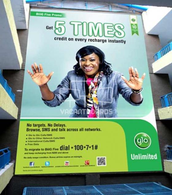 Wall Drape – TSC, Lagos