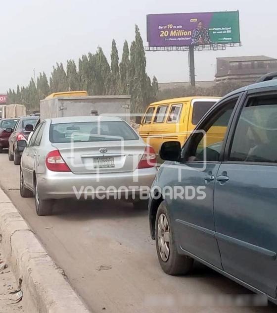 Unipole Billboard – Lagos Abeokuta Expressway, Ikeja