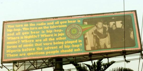 Hear Your Heritage by Matt Stokes in Ikoyi Lagos