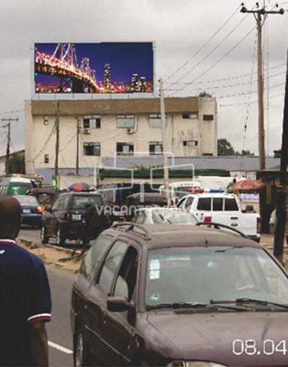Rooftop Billboard - Iju Road, Lagos