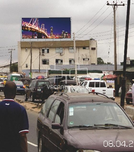 Rooftop Billboard – Iju Road, Lagos