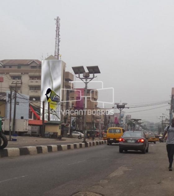 Wall Drape – Allen Avenue Ikeja, Lagos