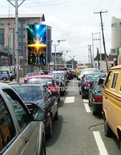 Wall Drape - Opebi Road Ikeja, Lagos
