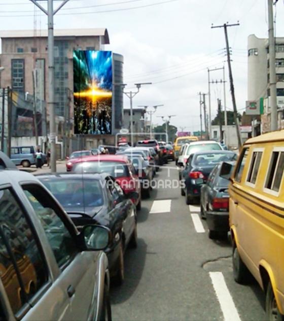 Wall Drape – Opebi Road Ikeja, Lagos