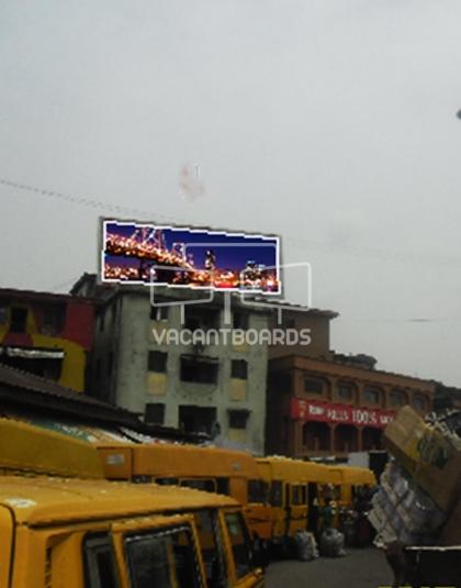 Rooftop Billboard - Apongbon, Lagos