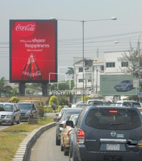 LED Portrait Unipole – Mobolaji, Lagos