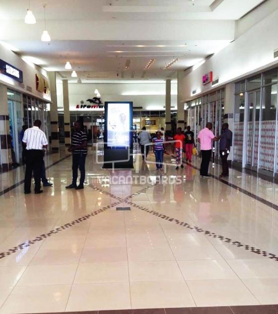 Digital Screen – Polo Park Mall, Enugu