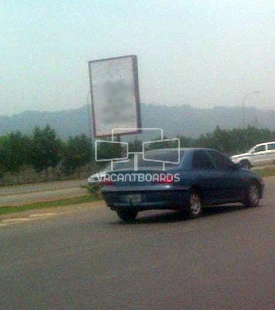 Portrait Billboard – Nnamdi Azikwe Exp., by NICON Junction, Abuja