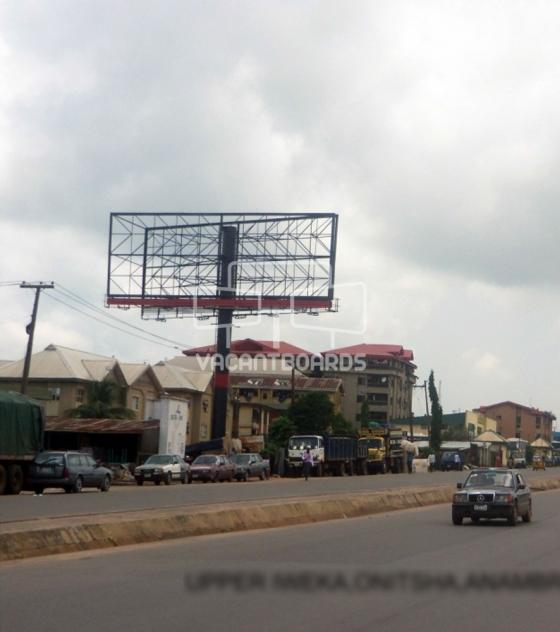 Unipole Billboard – Upper Iweka Road, Onitsha