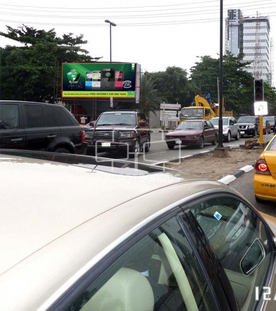 LED Billboard, Adeola Odeku