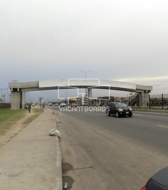 Bridge Panel Billboard, Jakande Pedestrian Bridge, Lekki