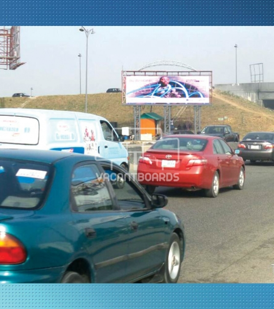 LED Billboard, Aba Road by Airforce Flyover