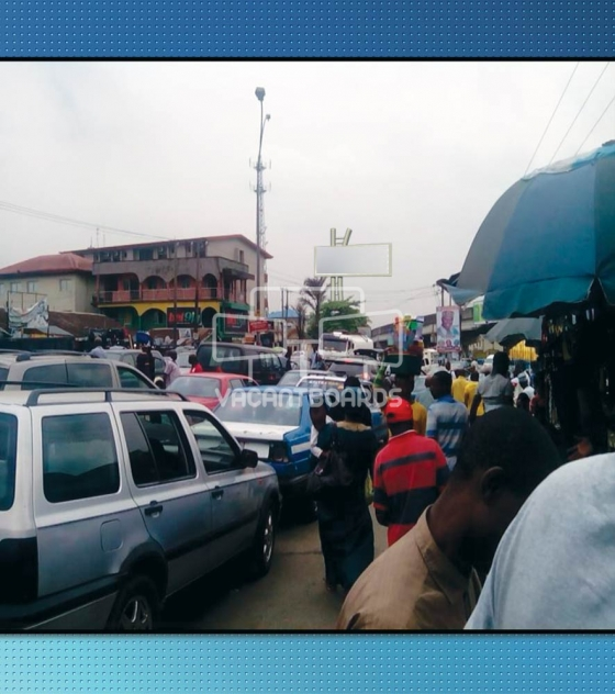 LED Billboard, Rumuola Junction, Port Harcourt