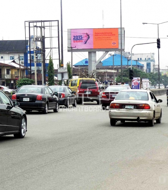 LED Billboard along Aba Road BY  Rumumasi Market Junction FTT Port Harcourt by POMA Clinic