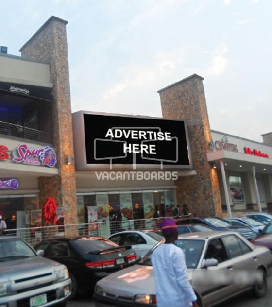 Digital Billboard, Ikeja City Mall, Alausa