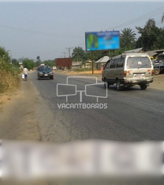48 Sheet Billboard Itu Calabar Road, Ikot