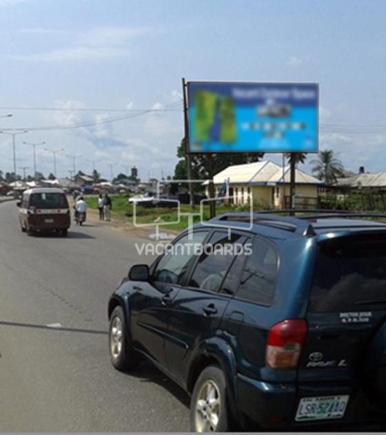 48 Sheet Billboard, Airport Road, Port Harcourt