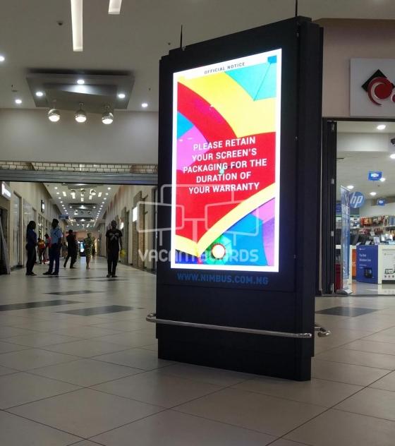 Tri Sided Digital Screen Festival Mall, Festac, Lagos
