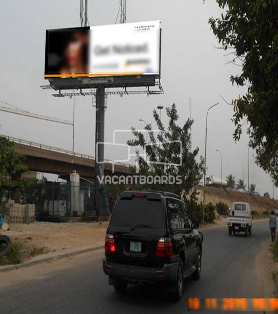 Unipole Billboard – Apakun Road, Lagos