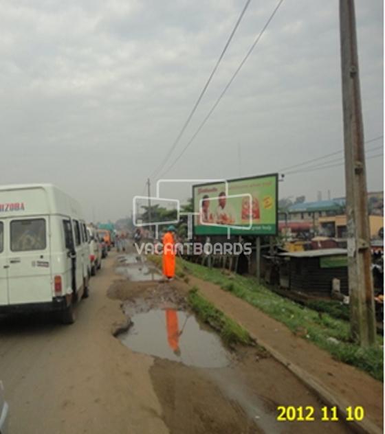 Dipole billboard- Lagos/Badagry exp.