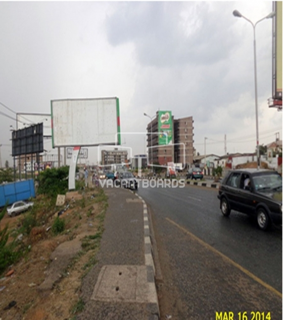 48 sheet super billboard-Challenge road, Liberty stadium, Ibadan