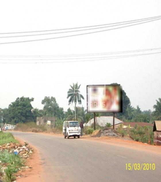Super 48 sheet billboard-Umuahia Enugu expressway, Enugu