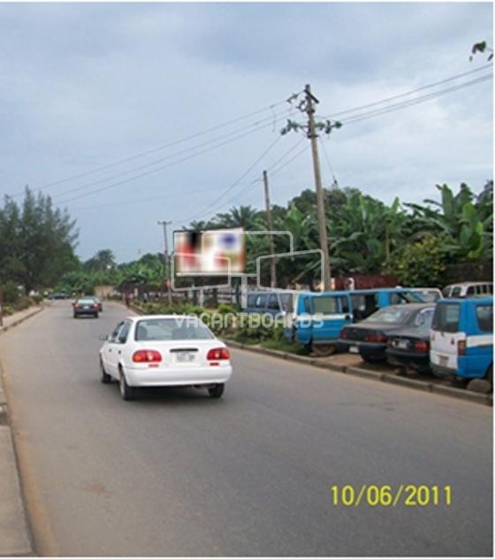 Super 48 sheet billboard- Ekwerre road, Portharcourt