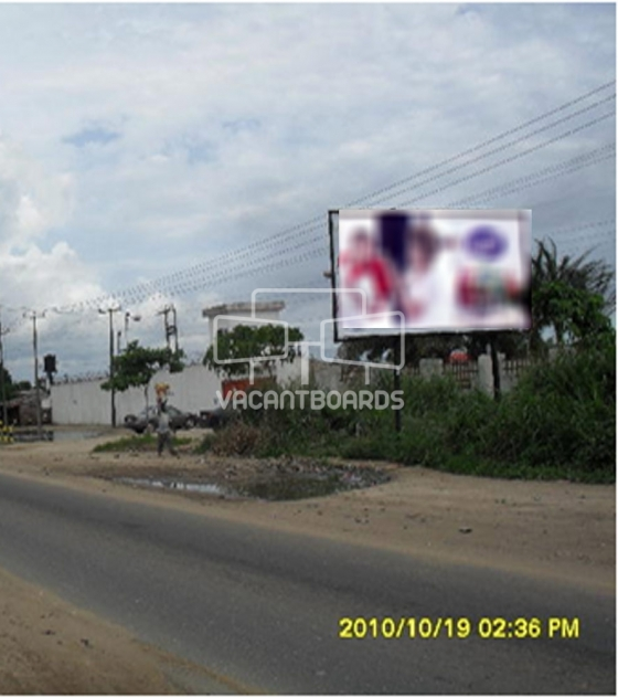 Super 48 sheet billboard- Portharcourt Aba road, Eleme road junction portharcourt