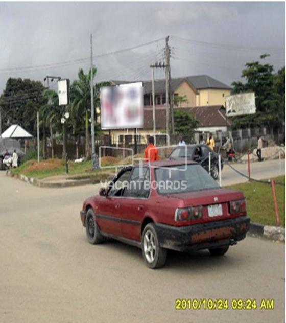 Super 48 sheet billboard-Ikwerre road, mile 3 UST roundabout