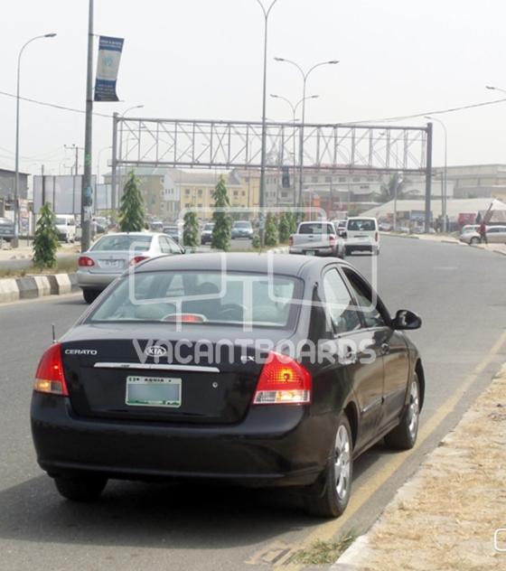 Gantry Billboard – Stadium Road, Port Harcourt