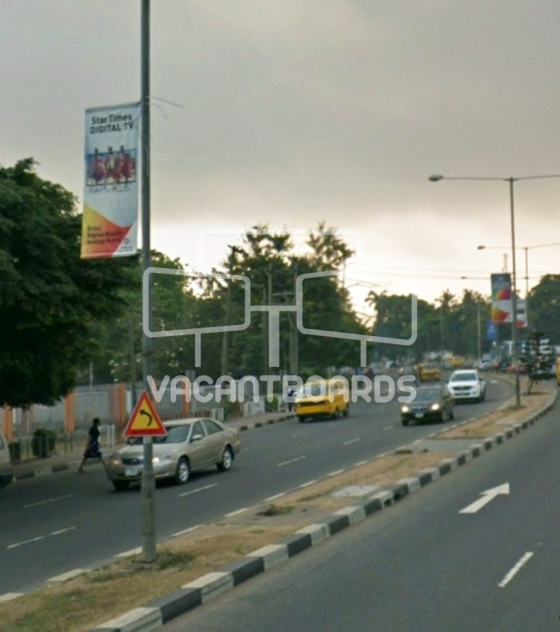 Lamp Posts – Mobolaji Bank Anthony Way, Ikeja