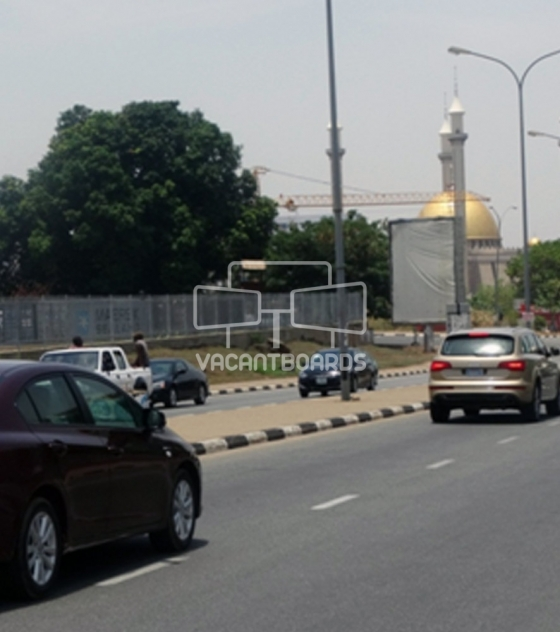 Portrait Billboard, A. Bello Way, Abuja